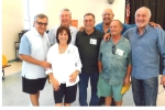 Rich and Linda (Ortiz) Fineo, Steve Ourso ,Bruce Hewitt, Rich Le Con, Tom Tomblin, Pat DuBridge   Class 1970