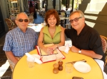 Mr. Richard Tuttle, Linda (Ortiz) and Rich Fineo (Class of 1970) Post Mega Reunion lunch