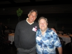 Don Huse '80 and Cliff Aldecoa (me) '79.  I heard he played some basketball.  :)