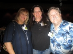 Jayne Golden '79, Janet Moorhead '79, and Cliff Aldecoa (me) '79