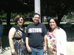 Class of '80, Deanna Lavery, Charles Castro and Rhonda Laws