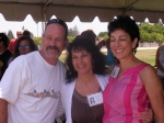 Todd Wolff, Norma Sordini-Harris, Vicki Ortiz-Phillips (Class of '75)