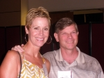 Donna Hendry-Thompson, Larry Goddard (Class of '77)