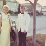 Senior Prom - 1969  Ina Sheffer-Wiser & Jim Bloom
